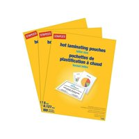 Staples Laminating Pouches Sheets Walmart Com
