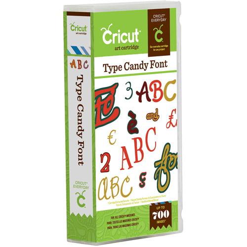 Cricut Font Cartridge, Candy