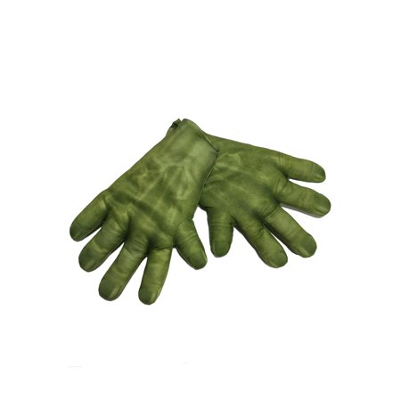 2 Other Names For Halloween (Avengers 2 Age of Ultron: Men's Hulk Gloves, One Size Halloween)