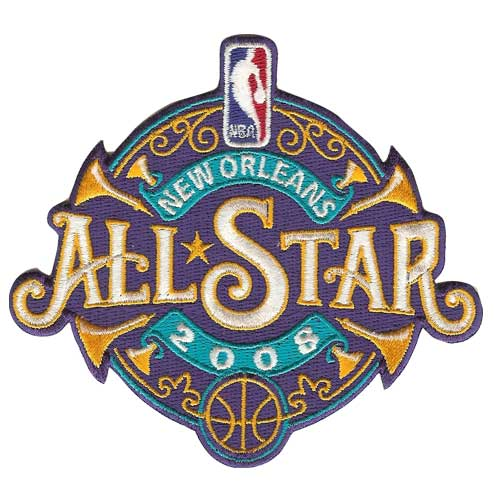 NBA Logo Patch - 2008 All Star Game