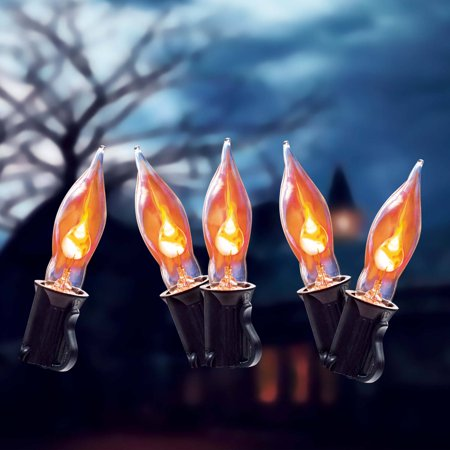 C7 Transparent Halloween Lights, 10ct - Halloween Borders Transparent