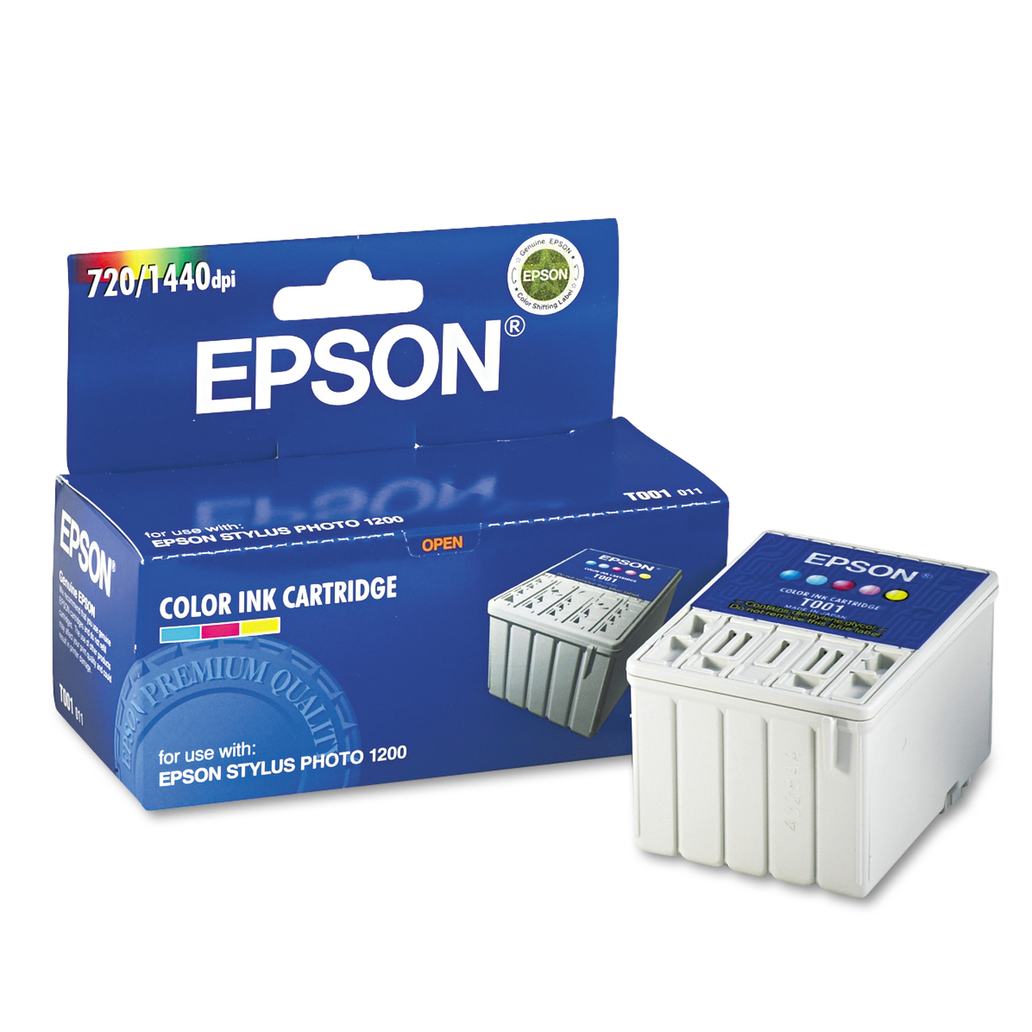 Epson T001011 (01) Ink, Tri-Color
