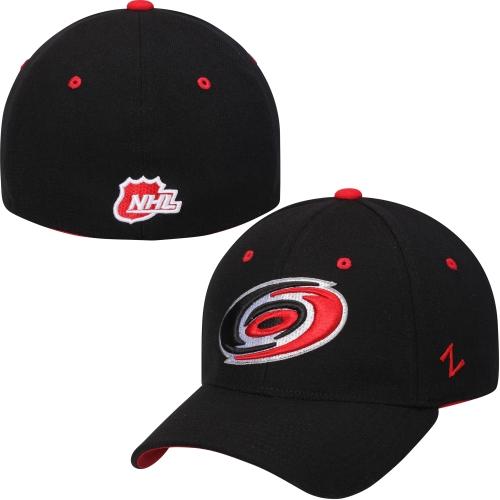 Carolina Hurricanes Zephyr Breakaway Flex Hat - Black