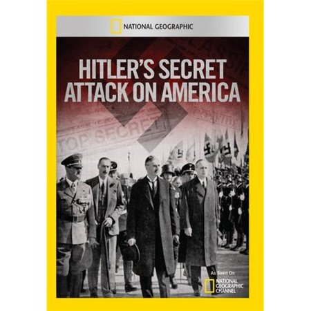 Hitler's Secret Attack On America DVD-5 For the first time in history, National Geographic and a group of scientists search the ocean floor for a series of shipwrecks many Americans never heard about. Everyone knows that on December 7, 1941, the Japanese attacked Pearl Harbor. But what most dont know is just days later, Hitler sent his own force to devastate the East Coast. On December 19, the German Naval War Staff sent three U-boats to American waters. It was an assault so deadly, it was covered up by the U.S. government. Features:45:00This Disc is formatted for all Regions and has CSS Copyright Protection (will not play in some laptops)