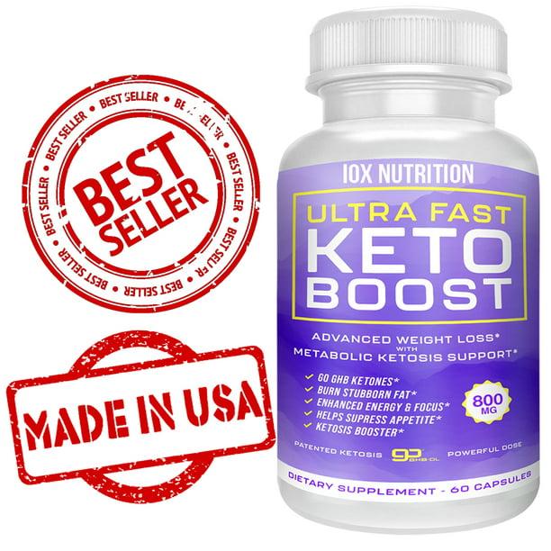 Keto Pills + Best Ultra Fast Keto Boost - Best Keto Pills - Rapid Weight Loss Pills