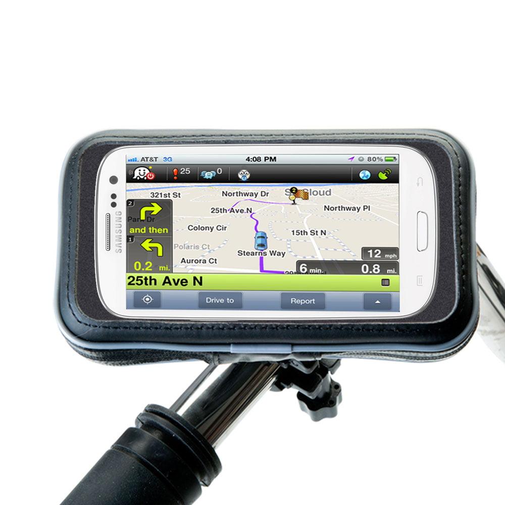 Gomadic Heavy Duty Weather Resistant Bicycle  /  Motorcycle Handlebar