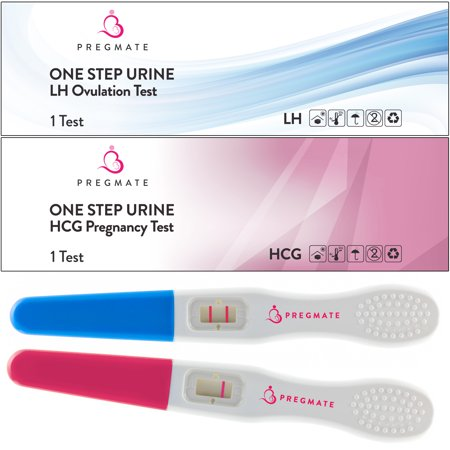Pregmate 20 Ovulation  Lh  Plus 5 Pregnancy  Hcg  Midstream Tests Sticks Strips Combo Predictor Kit Pack  20 Lh   5 Hcg