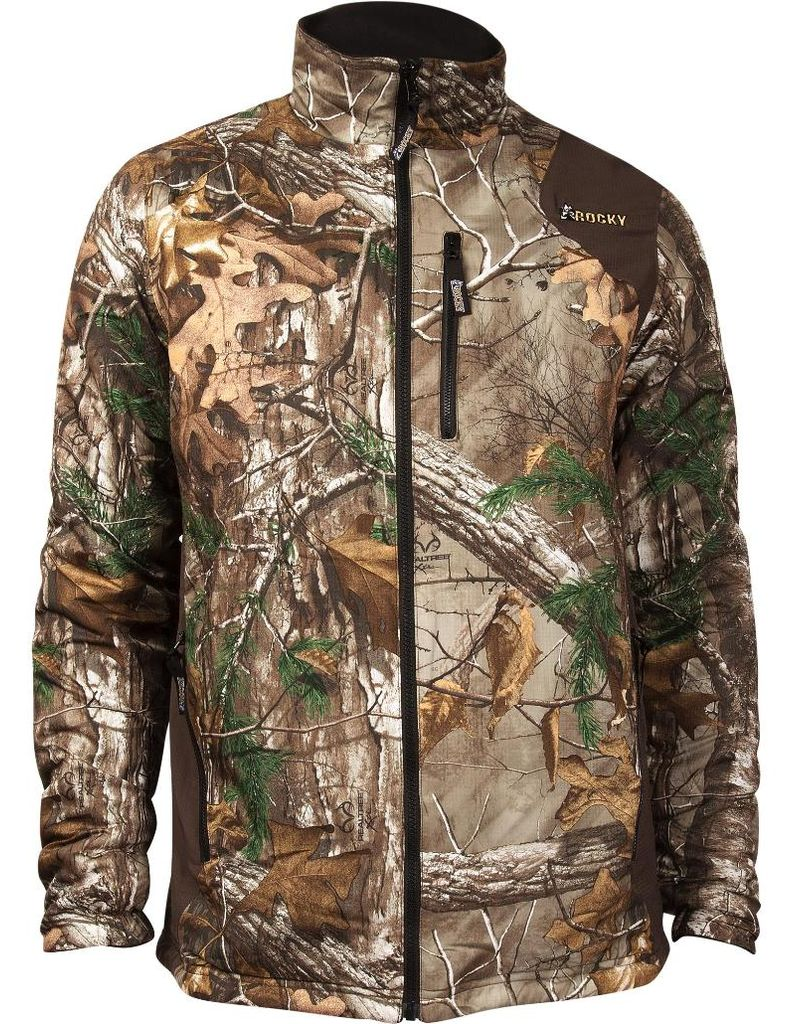 Rocky Outdoor Jacket Mens ProHunter Reversible Fleece Realtree HW00070 by Rocky