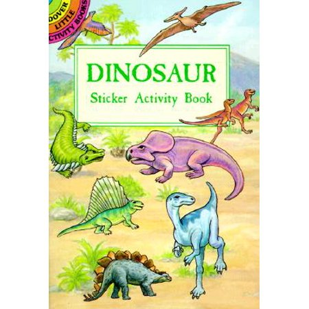 Dinosaur Sticker Activity Book - Dinosaur Stickers