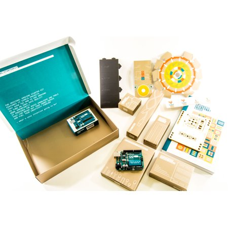 The Arduino Starter Kit (with 170-page Arduino Projects Book) for $<!---->