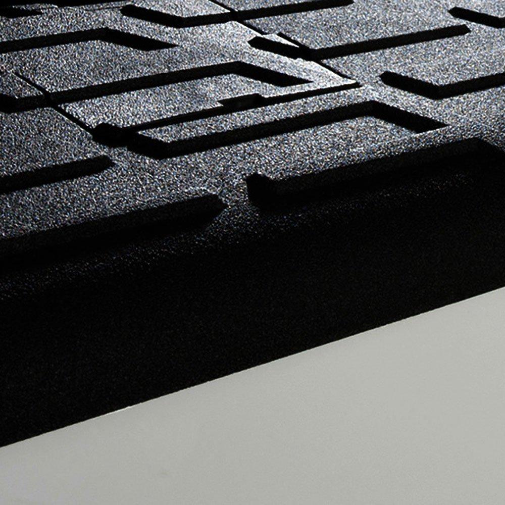 Husky QuadCaps 2007-2013 GMC Sierra 1500 Short Bed 5.8 Bed Rail Protector, Black - image 3 of 5