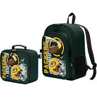 The Northwest Company Green Bay Packers Accelerator Backpack & Lunchbox - No Size