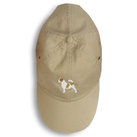 Jack Russell Terrier Embroidered Baseball Cap BB3407BU-156