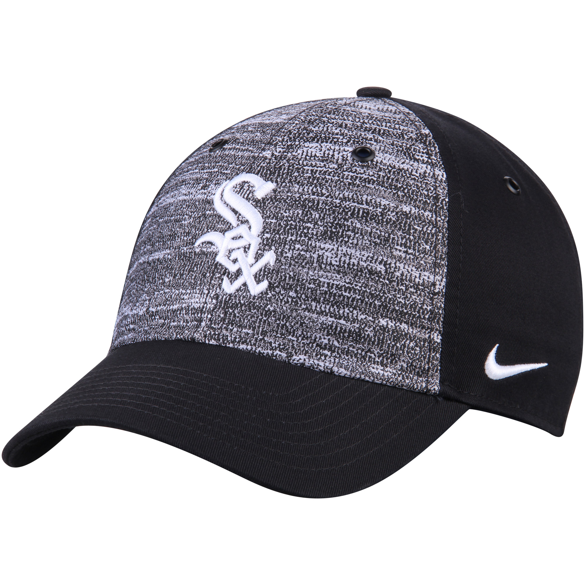 various colors c5dab 5d21f ... low cost product image chicago white sox nike new day h86 adjustable hat  heathered gray black