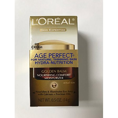 - L'Oreal Paris Age Perfect Hydra-Nutrition Golden Balm Eye, 0.5 Fluid Ounce