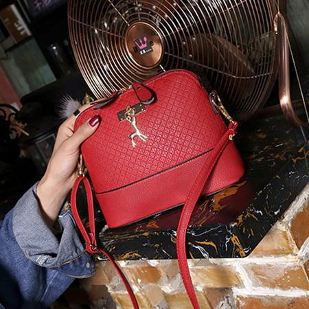 Shoulder Bag Lady Indentation Exquisite Deer Shell Messenger Bag Storage Bag - image 2 de 4
