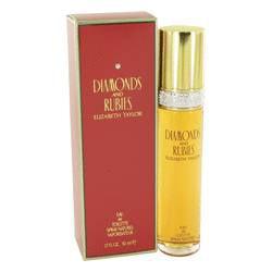 DIAMONDS & RUBIES by Elizabeth Taylor Eau De Toilette Spray 1.7 oz