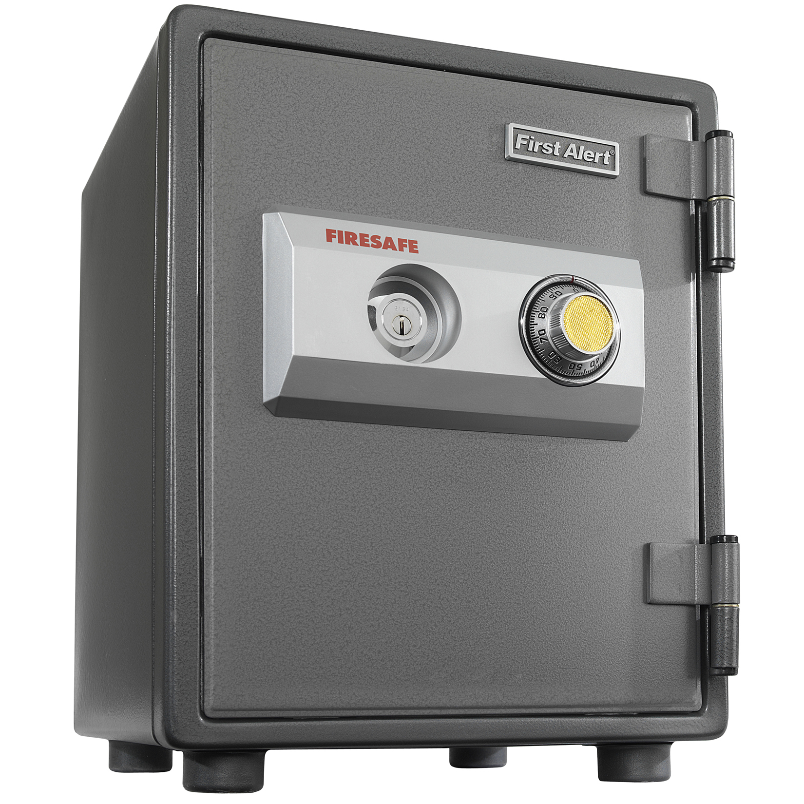 First Alert 2054F .80 Cubic Foot Gray Steel Fire Safe With Combination Lock