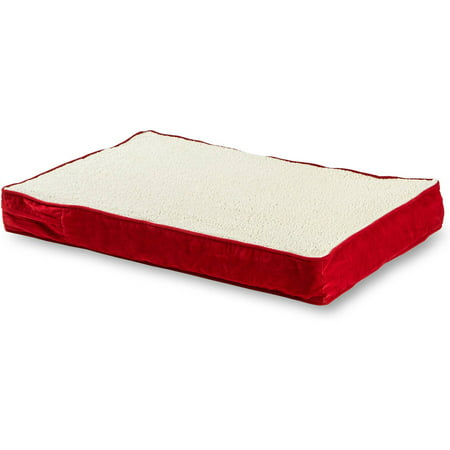Happy Hounds Oscar Orthopedic Dog Bed - Crimson - Small