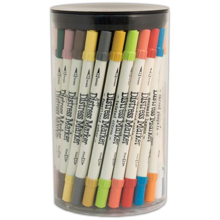 Tim Holtz Distress Markers Tube Set, 61pk, 61 Colors