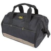 "Custom Leathercraft 1161 12"" 23 Pocket Standard BigMouth Tool Bag"