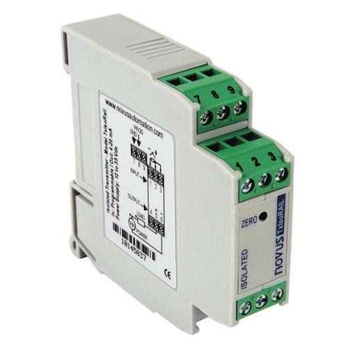 Novus Isolated Temperature Transducer, TxIsoRail 4-20mA