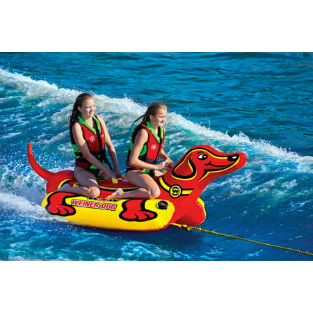 WOW World of Watersports Weiner Dog 2 Towable Tube