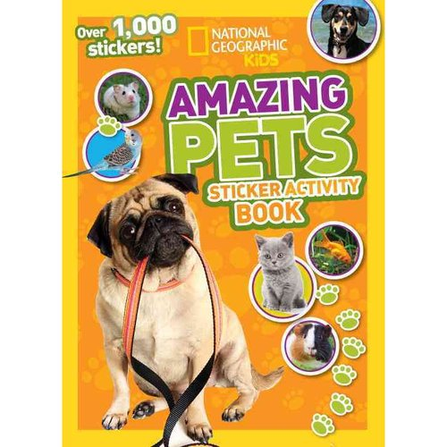 National Geographic Kids Amazing Pets: Sticker Activity Book