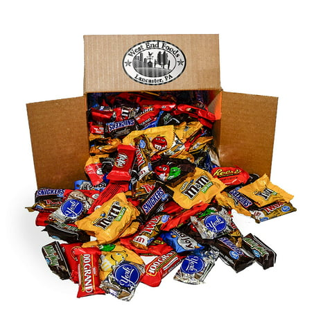 Assortment of Chocolate Halloween Candy (5.6 lb Bag)](Unwrapped Candy Halloween)