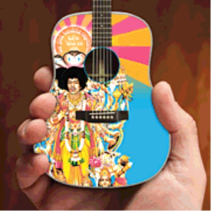 """Axe Heaven Jimi Hendrix Axis """"Bold As Love"""" Acoustic - image 1 de 1"""
