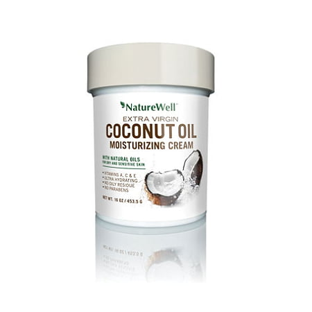 Nature Well Extra-Virgin Coconut Oil Moisturizing Cream (16