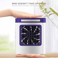 [Freedomgo] New Charging S9 Mini Portable Air Conditioning Fan Home Refrigerator Cooler EU
