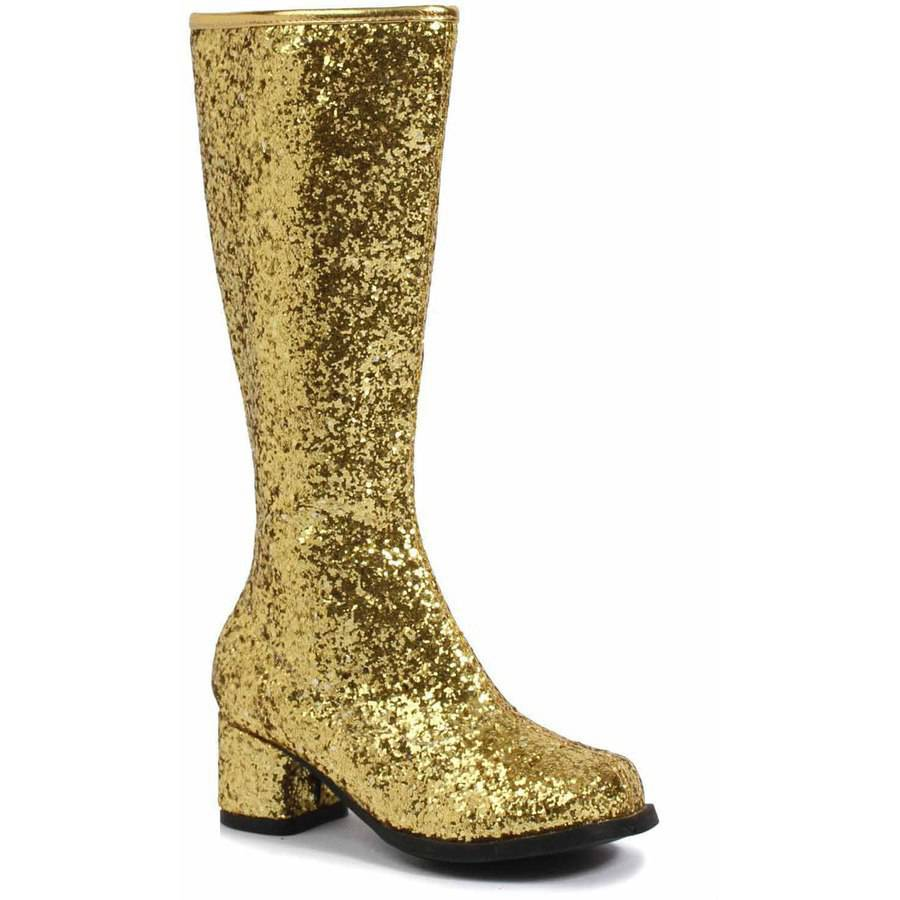 Gold Glitter Gogo Boots Girls' Child Halloween Costume Accessory