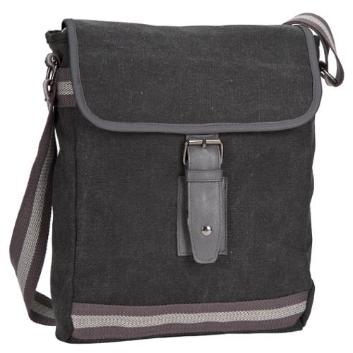 Goodhope Arlington Mini Messenger Bag Grey