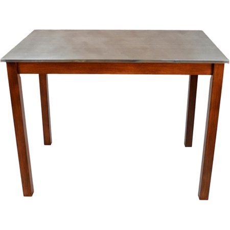 Cooper Stainless Steel Top Bar Table Multiple Colors Walmartcom