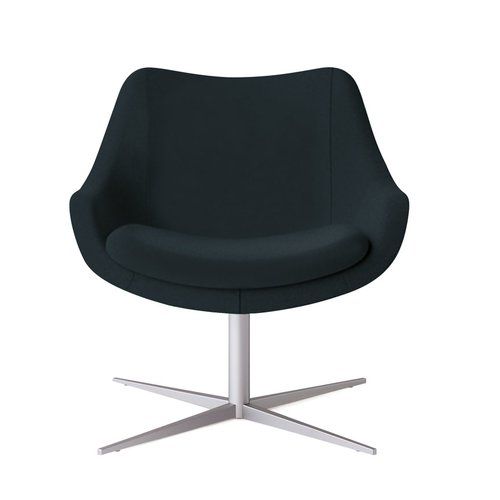 Kimball Office Bloom Swivel Lounge Chair