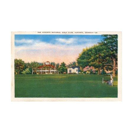 Augusta National Golf Club House, C1935 Print Wall