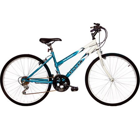 26  Titan Wildcat Womens Mountain Bike  Blue   White