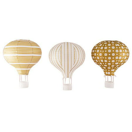 Hot Air Balloon Paper Lantern, 3pk](Balloon Lanterns)