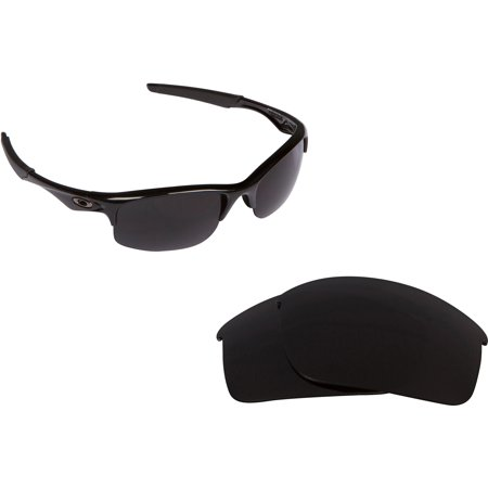 Replacement Lenses Compatible with OAKLEY BOTTLE ROCKET Polarized Black Iridium