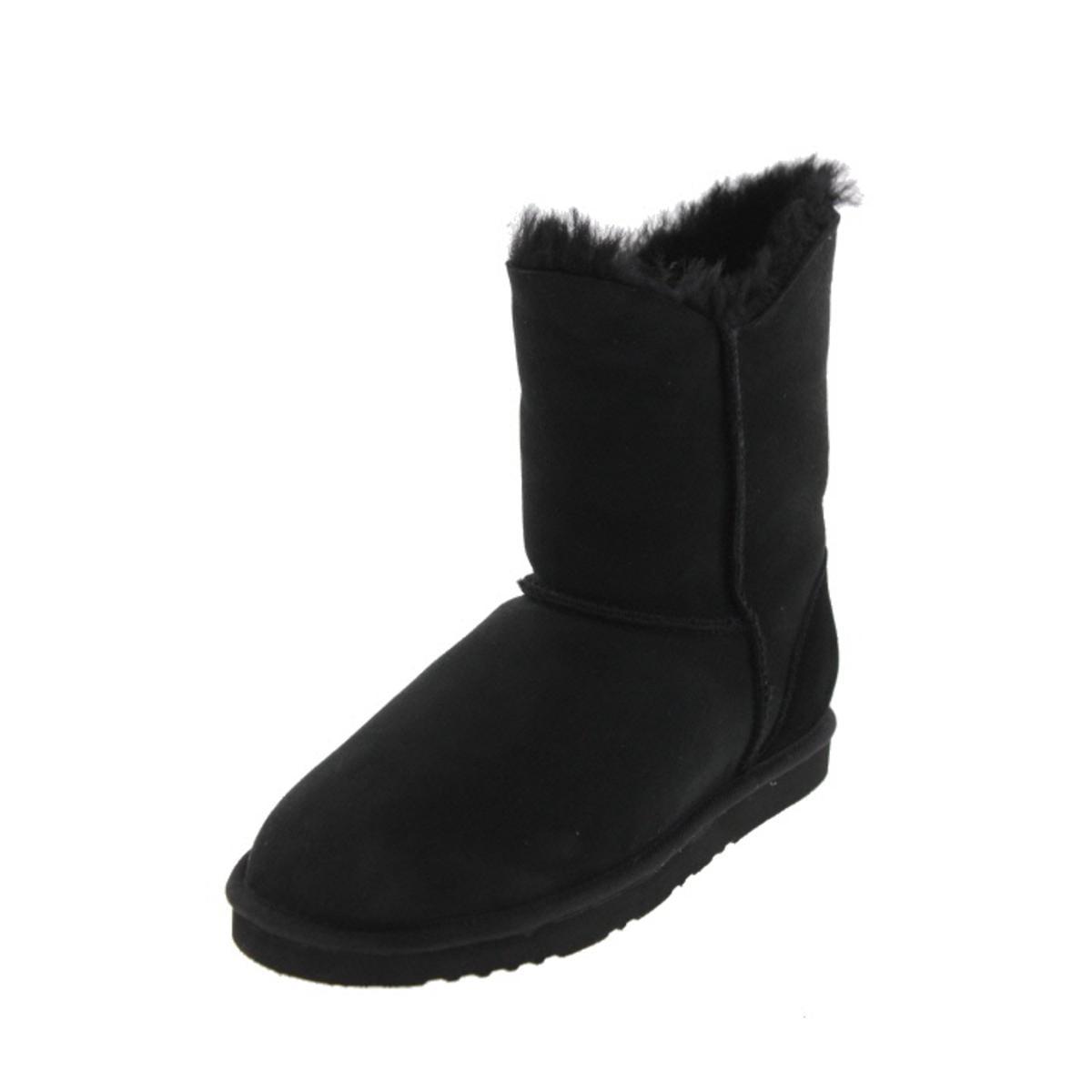 Koolaburra Womens Double Halo Short Sheepskin Lined Ankle Boots by Koolaburra