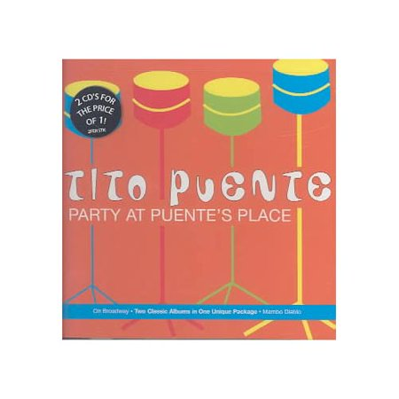 Contains 2 LPs on 2 CDs: ON BROADWAY (1983)/MAMBO DIABLO (1985).Personnel: Tito Puente (vibraphone, timbales, percussion); Mario Rivera (soprano & tenor saxophones, flute); Jimmy Frisaura (trumpet, flugel horn, valve trombone); Ray Gonzalez (trumpet, flugel horn); George Shearing, Sonny Bravo, Jorge Dato (piano); Edgardo Miranda (guitar, cuatro); Alfredo De La Fe (Best Ramen In San Jose)