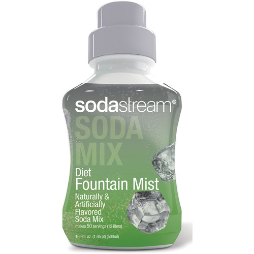 SodaStream Diet Fountain Mist Sodamix, 500 ml