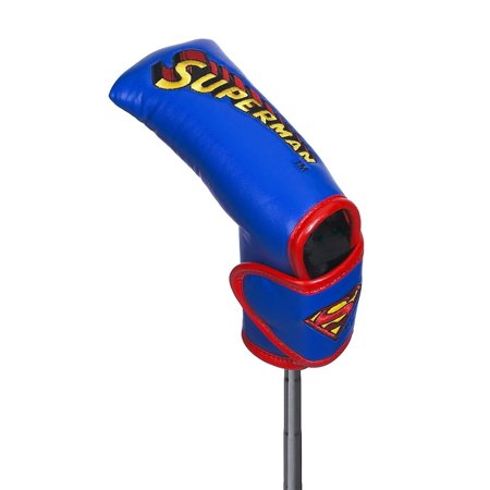 Superman Blade Putter Cover, Designed to fit most standard blade putters By Creative Covers for Golf (Designs Putter)