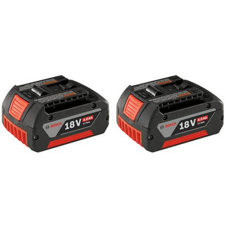 Bosch BAT620-2PK FatPack 18V Lithium-Ion Battery (Bosch 18v Li Combi Drill 2 Batteries)