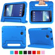 "Fintie Case for Samsung Galaxy Tab E Lite 7"" /Tab 3 Lite 7.0 Tablet Kiddie Lightweight Shock Proof Stand Cover, Blue"