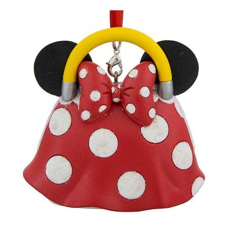 Disney Parks Minnie Mouse Purse Handbag Christmas Resin Ornament New with - Mouse Christmas Ornaments