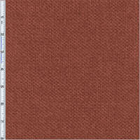 Terracott Red Aura Chenille Upholstery Fabric, Fabric Sold By the Yard