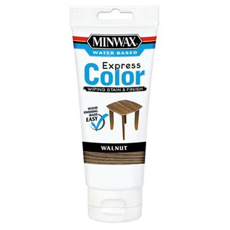 308034444 Express Color Wiping Stain and Finish, Walnut..., By Minwax Ship from - Finishes Available Usually Ships
