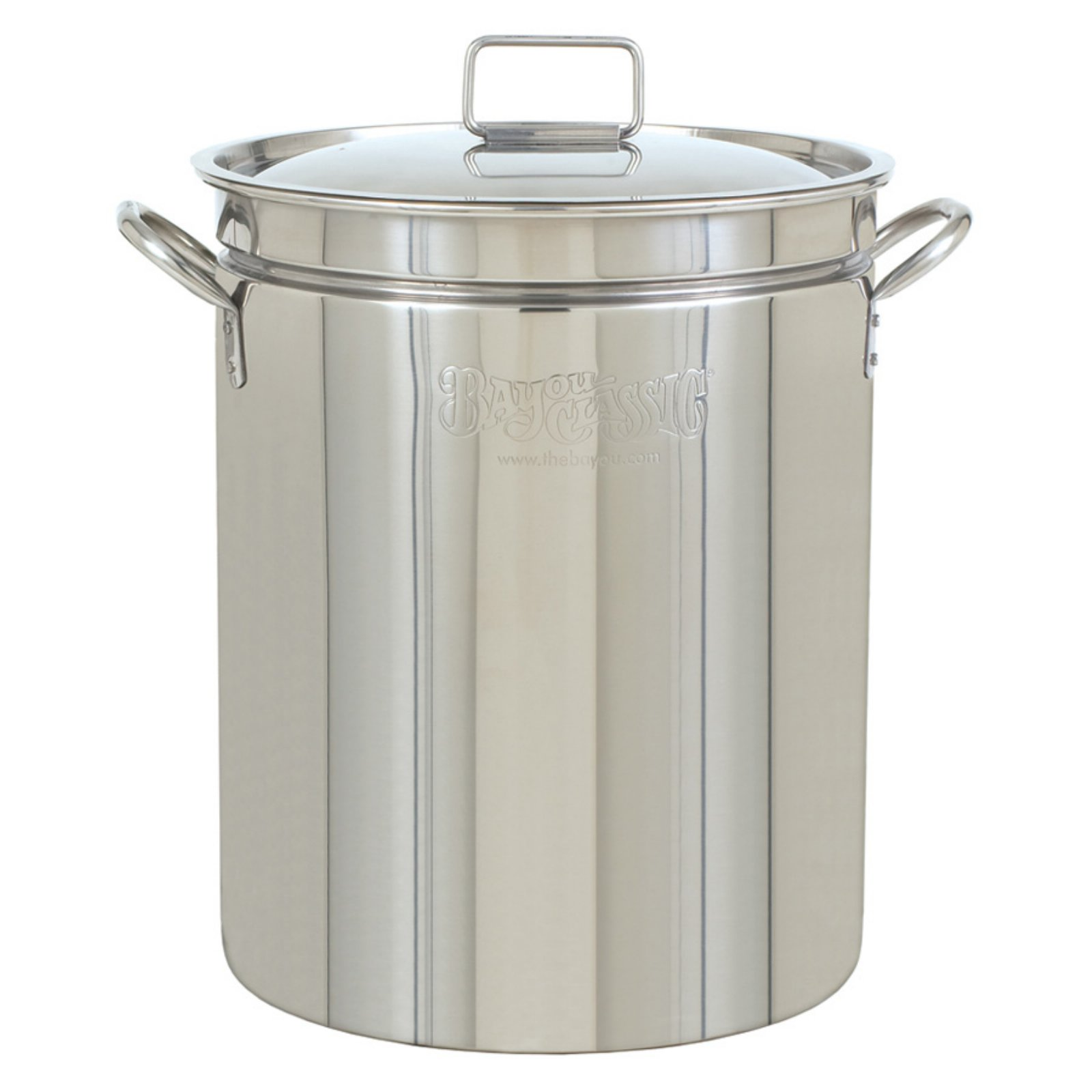Bayou Classic Stainless Steel Stockpot with Lid